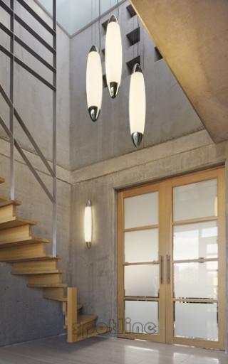 klatka schodowa, lampa